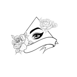 """""""The all seeing female"""" design. No more hiding your dirty laundry🤣🤣"""