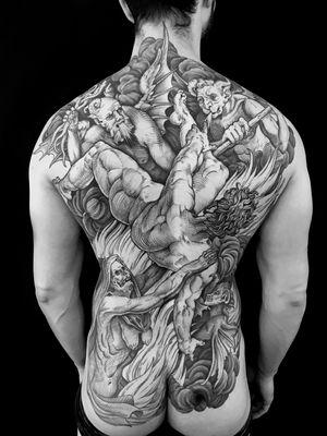 #hell #fallen #etching #etchingtattoo #engraving #engravingtattoo #gravure #tatouage #tattoo #blacktattoo #blackwork #blackworkers #blackworkers_tattoo #blackworkerssubmission  #blackandgreytattoo #art #arttattoo #mauddardeautatouages #mauddardeau #bordeaux #bordeauxtattoo