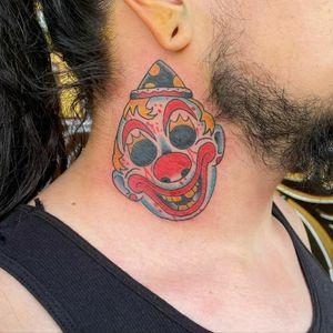 Work by Cody Johnson #halloween #clown #traditional #michaelmyers