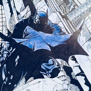 Dark kight , gotham city , batman