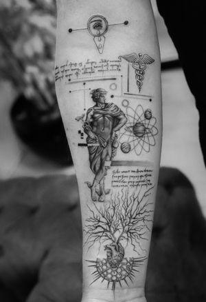 Hermes • #sametyaman #hermes #tattoo