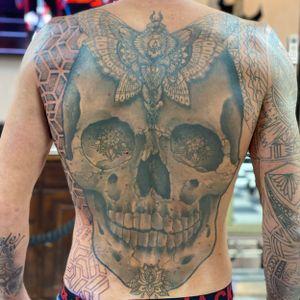 Done by Julian Suarez tattoo in progress