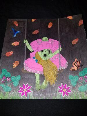 #dead #zombiegirl #swing #color #art
