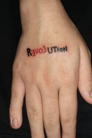 #TATTOO #revolution #bucharest