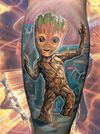 I'm Groot, Baby Groot #groot #guardians #marveltattoo