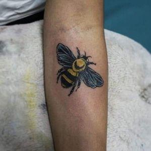 Bumblebee tattoo.