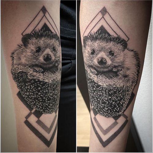 #tattoo #tatouage #hedgehog #hedgehogtattoo #herisson #herissontattoo #animal #animaltattoo #realistictattoo #realistic #realisticink #forearmtattoo #lausanne #lausannetattoo #tattoolausanne #fann_ink