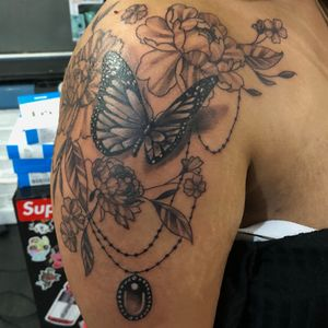 Butterfly piece done yesterday