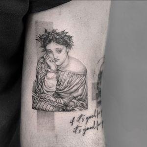 #tattoo #northwalestattoo #blackandgreytattoo #blackangrey #edwardpoynter #erato #eratotattoo #finelinetattoo #singleneedletattoo #fineline #singleneedle #walestattoo #chestertattoo #liverpooltattoo #manchestertattoo #uktattooartists #microtattoo #micro #microrealism #microrealismtattoo
