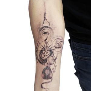 Karma life tattoo design Artist : Çağdaş Mutlu