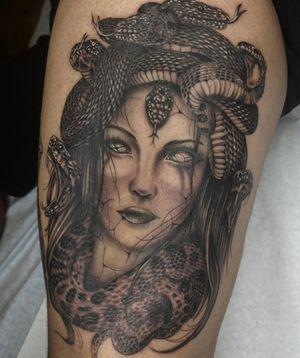 Medusa piece this was fun