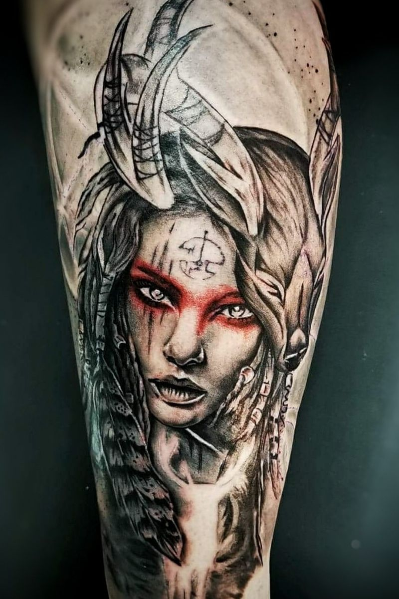Tattoo from Cultures Primitives