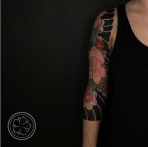 Finished 3/4 sleeve