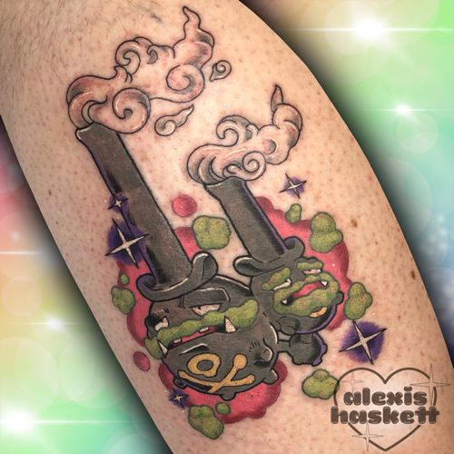 Galarian Weezing for Kevin!