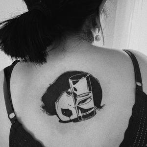 #tattoo #tattooartist #tattooart #tattoolovers #illustrativetattoo #inkedgirls #cuttedhead #cuttedheadtattoo #japanese #inkedgirls#inkedlife