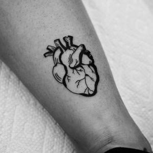 #heart #blackwork #missvampira
