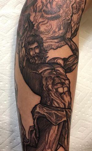 Sisyphus tattoo 💪