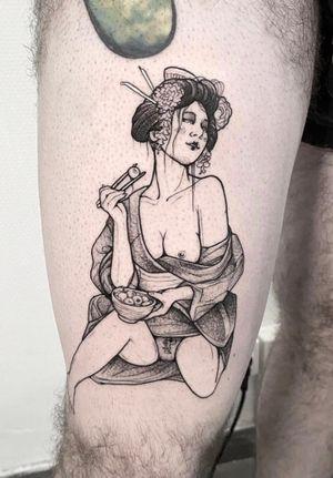 Geisha eroguro gore sexy