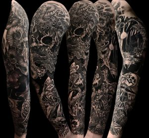 Dark Marine theme full sleeve