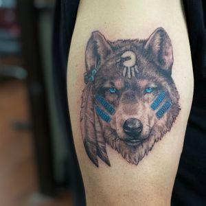 Comanche wolf