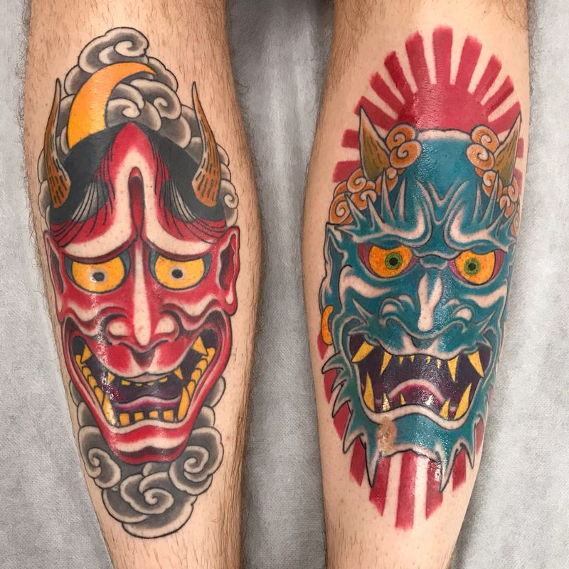 Tattoo from Gareth Parry