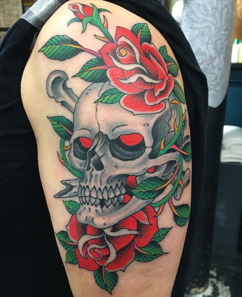 Tattoo from Five Points Tattoo NYC