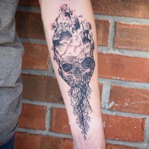 Abstract skull!!