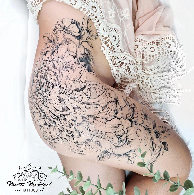 Tattoo from Marta Madrigal Tattoos