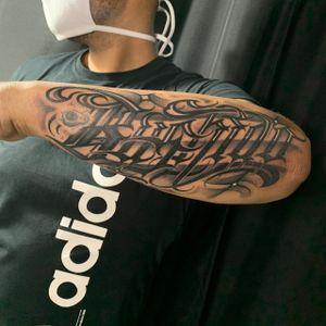 Bushido -------------------------- Contato pelo link no perfil! 📲 -------------------------- #tattoosp #tatuagemsp #tatuagemescrita #letteringtattoo #lettering #tattoolettering #tattoosp #customletteringtattoo --------------------------