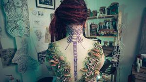 Pre tattoo #stencil