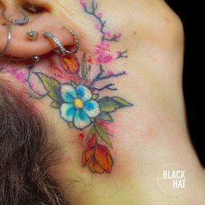 Tattoo by The Black Hat Tattoo Dublin