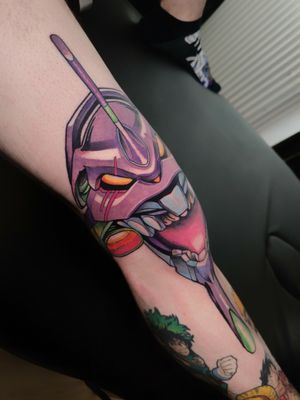 So nice to do this Knee Eva tattoo :3