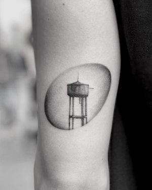 • A memories • . Booking Open! @torocsikartroom . . #tattooed #inked #inkedmag #inkjunkeyz #tattooedmag #art #artist #tattooartist #budapest #bp #budapesttattoo #sketch #freehand #dailytattoo #dailyphoto #lines #fineline #tattoomachine #brush #blackwork #photography #travel #tattoomodel #instatattoo #microrealism #tattoodesign #drawing #memories #tower