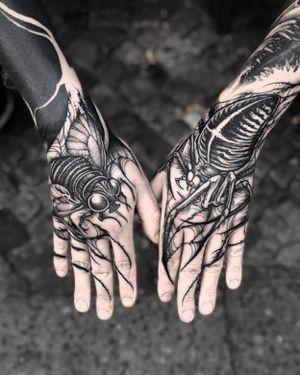 Free hand made