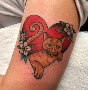 Kitty cat tats