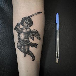 Tattoo by Rick Schenk at Third Eye Gallery