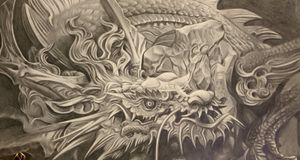 Graphite drawing I did 2020