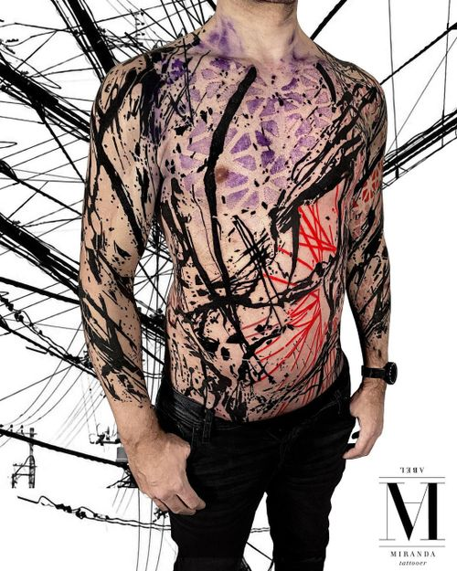 ...Body suit in progress ..... Abstract concept Avantgarde style ...