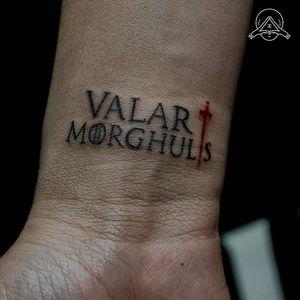 GRACIAS POR LA CONFIANZA. . @sallymesta . #tattoo #ink #tatuajes #valarmorghulis #blackwork #finelinetattoo #color #oldschooltattoo #traditionaltattoo #neotraditionaltattoo #blackandgreyink
