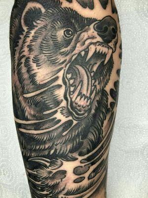 #black&grey grizzly beast