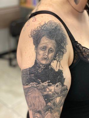 Healed Edward Scissor Hands portrait