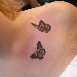 Butterflies colorwork