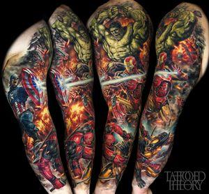 Marvel sleeve