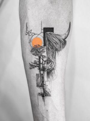 Oxy boy 🟠 . Booking OPEN! johny@danieltprocsik.com . @torocsikartroom . . #tattooed #inked #art #artist #tattooartist #budapest #bp #budapesttattoo #ox #cow #minimal #minimaltattoo #finelinemag #tree #blackwork #fineline #dailytattoo #tattoodo #hungary #hungariantattoo #sketch #tattoodesign #smalltattoo #travel #photography #instatattoo