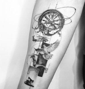 💥 Booking OPEN! 📩: johny@danieltorocsik.com @torocsikartroom . . #tattooed #inked #art #artist #tattooartist #budapest #budapesttattoo #bp #hungary #hungariantattoo #minimal #minimaltattoo #clock #dog #timetravel #travel #photo #photography #blackwork #inkedmag #tattoodo #linework #tattoomachine