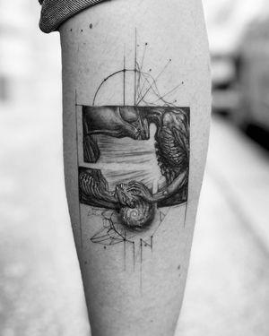 H. R. Giger healed so good 💫 . 🚨Booking OPEN! johny@danieltorocsik.com @torocsikartroom . . #tattooed #inked #inkedmag #tattooing #art #artist #tattooartist #budapest #budapesttattoo #bp #hungary #hungariantattoo #minimal #minimaltattoo #hrgiger #giger #gigertattoo #tattoomachine #galaxy #galaxytattoo #geometric #dailytattoo #healedtattoo