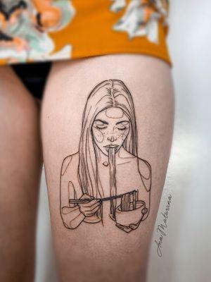 Noodles girl