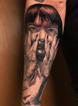 Mia Wallace #pulpfiction #tattoo #qtat2 #qtats