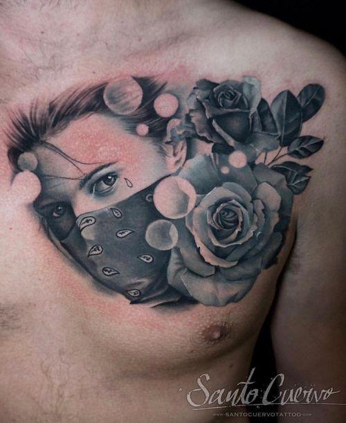 Rebel girl - Sponsored by: @hellotattoomed @greenhousetattoosupplies Done using: @killerinktattoo @fusion_ink @fkirons @inkjecta @blackclaw @stencilanchored @inkeeze #tattoo #tattedup #tattooart #tattoostudio #tattoolovers #ink #inklife #inked #tattooartist #londontattooartist #tattooing #tattoolife #tattoosocial #tattoolondon #vegantattoo #veganink #vegan #killerinktattoo  #london #stokenewington #hackney #londontattoostudio #alexalvarado #santocuervo