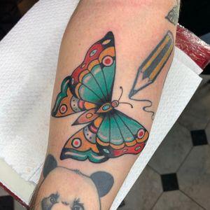 Butterfly🦋 #butterfly #butterflytattoo